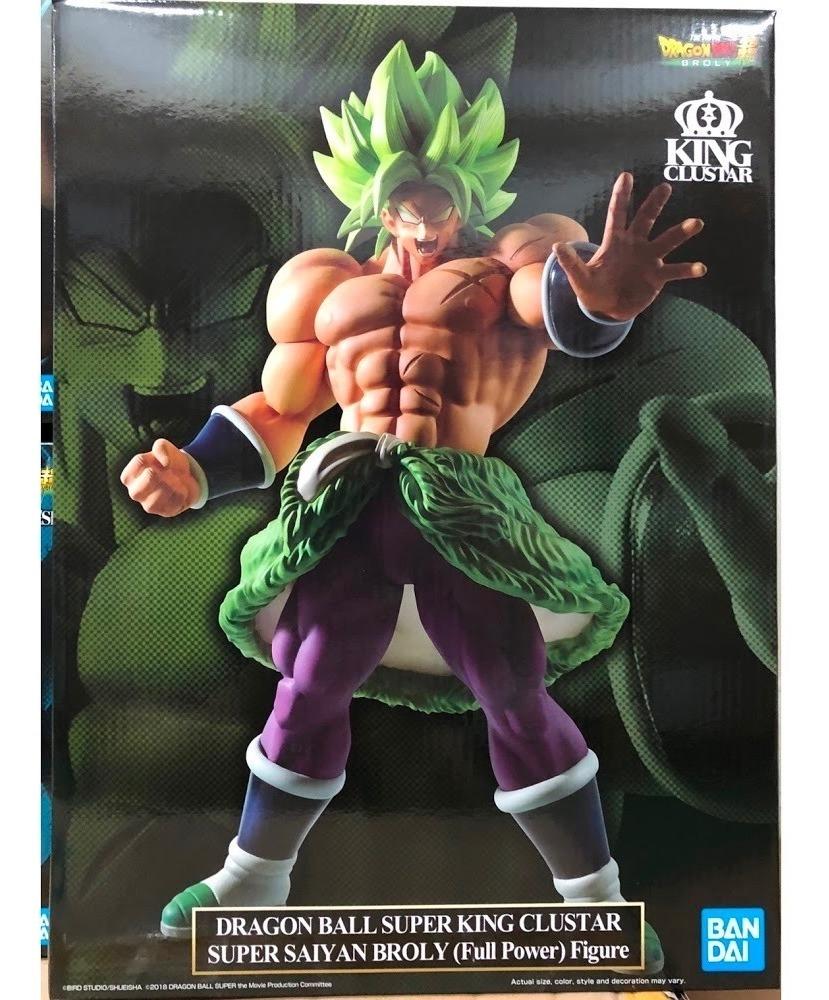 Figure Banpresto Dragon Ball Super King Clustar Super Saiyan Broly Full Power