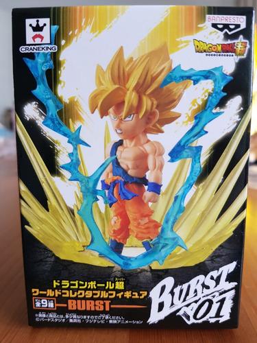 banpresto dragon ball wcf burst 01 - son goku super sayan