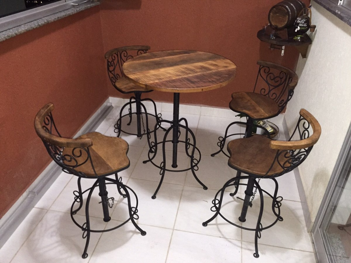Banqueta bistr em ferro r 119 90 em mercado livre for Sofa que vira beliche onde comprar