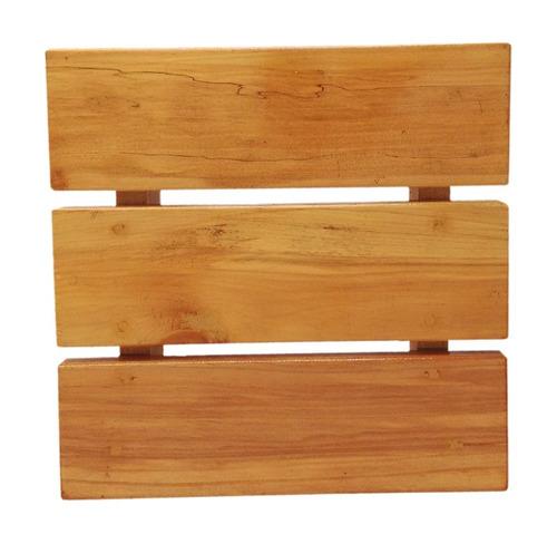 banqueta de madeira
