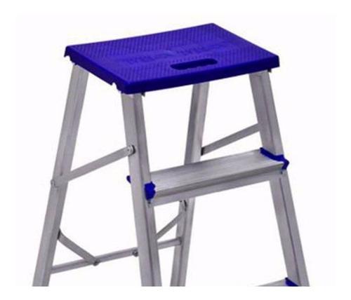 banqueta escada doméstica  alumínio 3 degraus