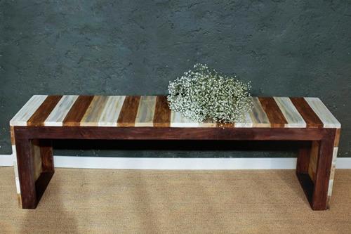 banqueta madera