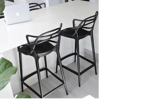 banqueta master taburete diseño moderno plastico premium