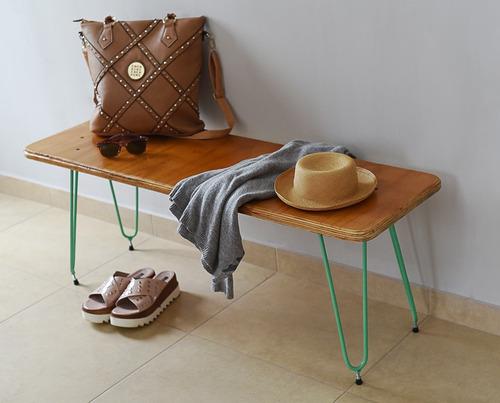 banqueta pie de cama moderno