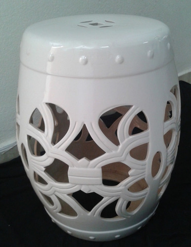 banqueta seat garden - vaso decorativo