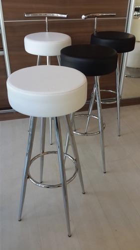banqueta, taburete, silla desayunador, barra, cromo tapizado