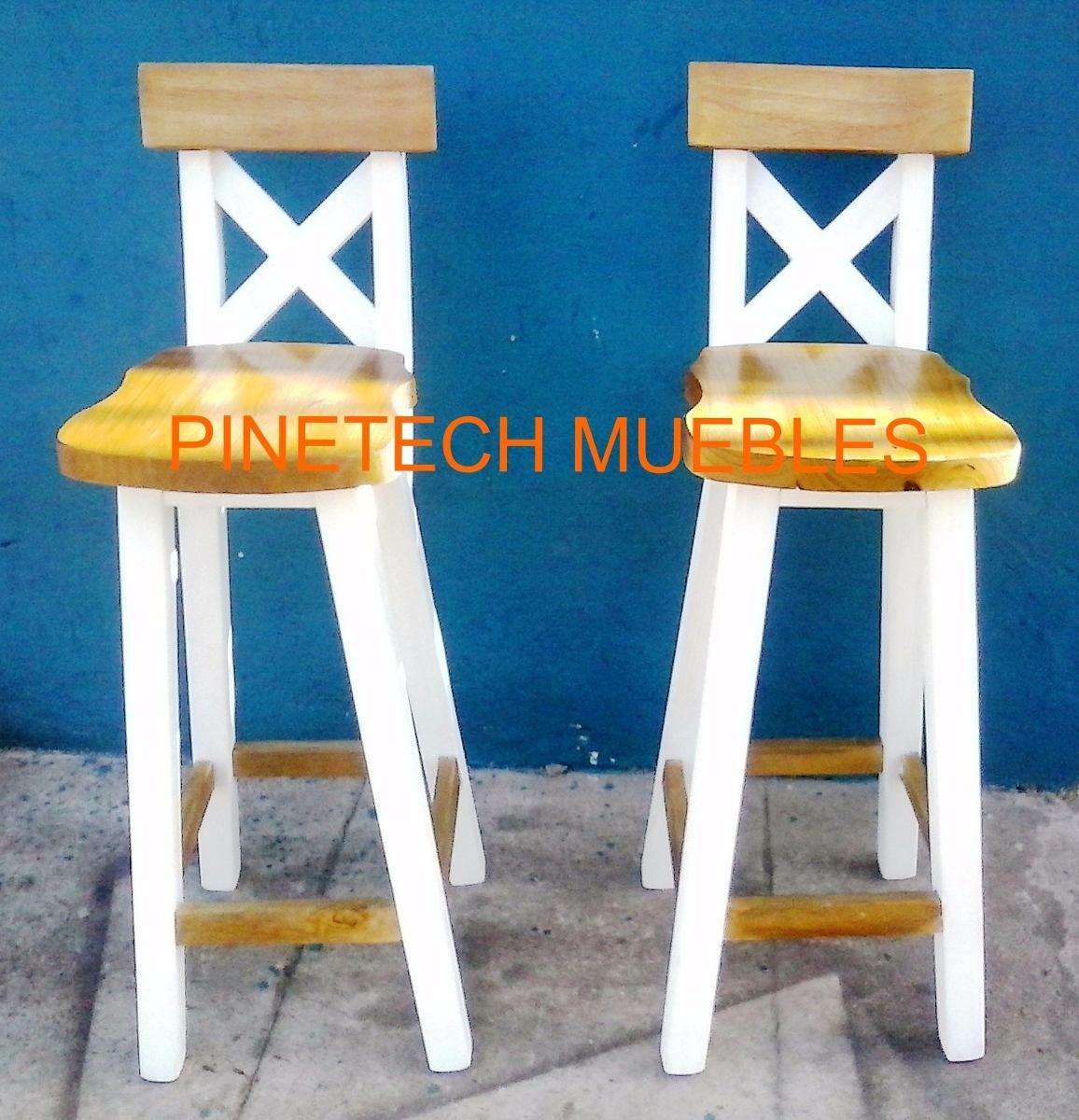 Sillas para barra de cocina sillas de bar de palets mesa for Sillas altas para barra