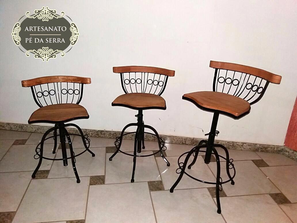 Banqueta Decora O Em Minas Gerais No Mercado Livre Brasil ~ Preço Banquetas Para Cozinha