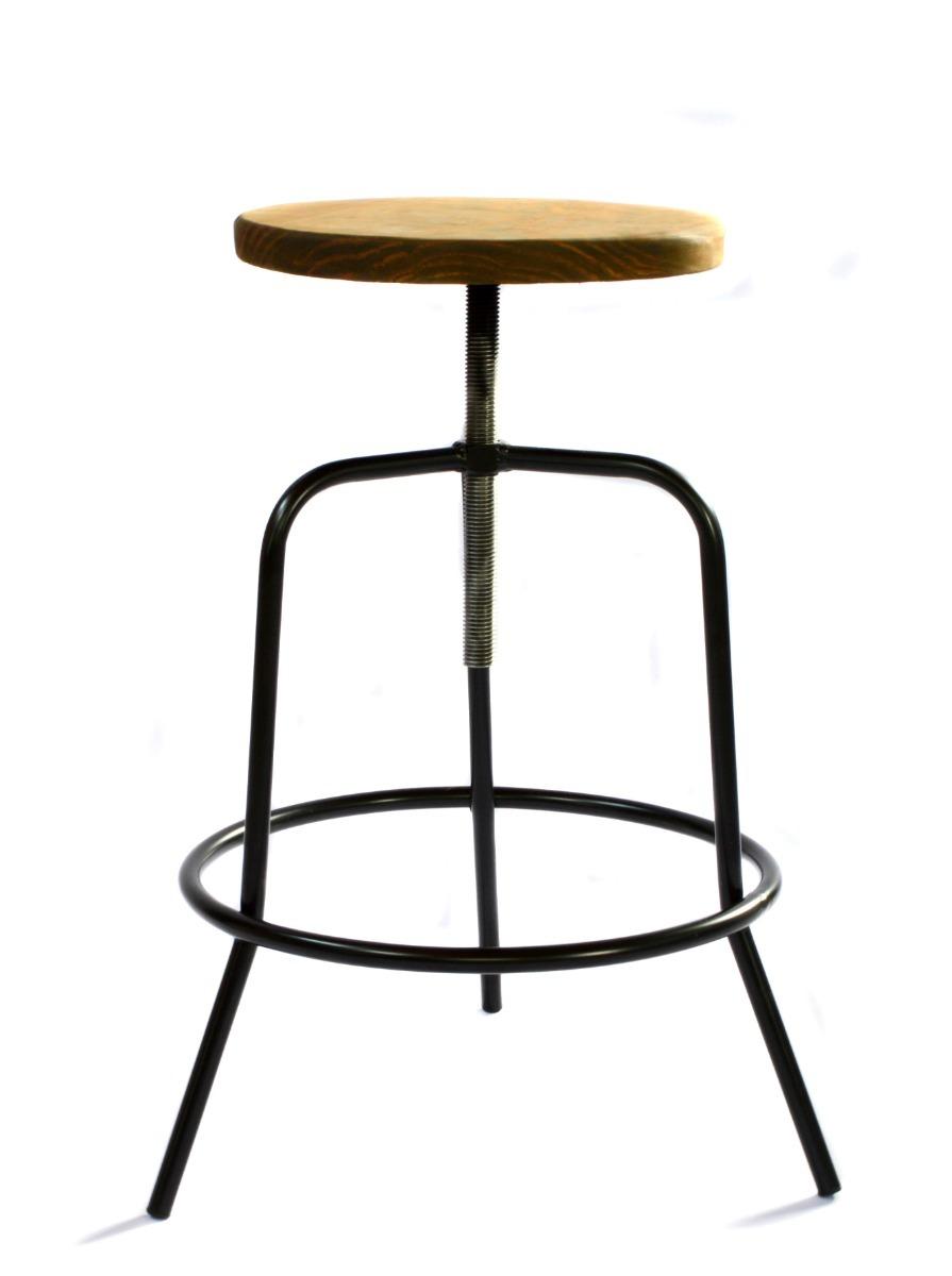 b9faf50141b8 banquetas desayunador taburete hierro y madera regulable. Cargando zoom.