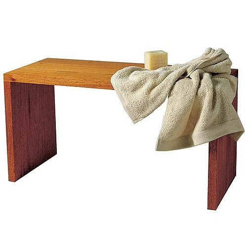 Banquetas para ba o de madera lustrada en - Banquetas de bano ...