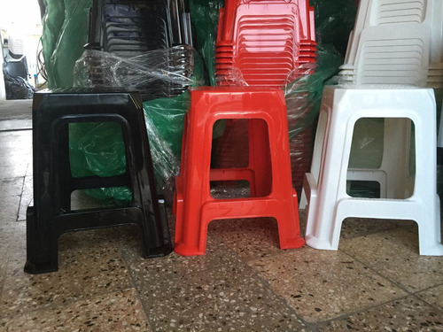 banquetas plasticas master reforzadas apilables