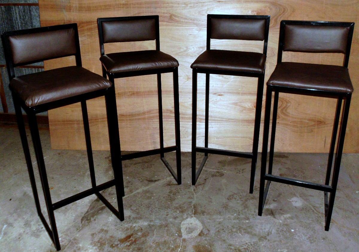 Banquetas taburetes sillas altas desayunador banco cajero for Sillas de escritorio altas