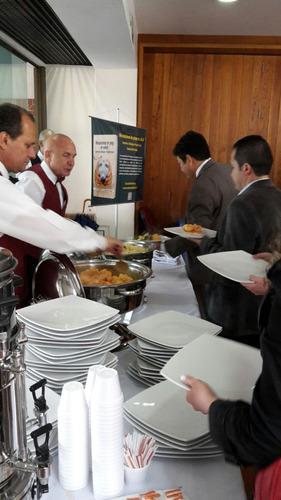 banquetes, paella, refrigerios, desayunos, asados, buffets