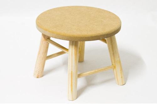 banquinho infantil mesa madeira mdf criança decoração festa