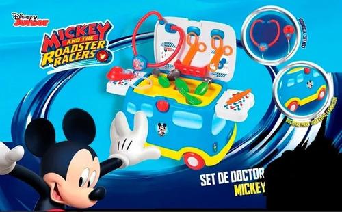 banquito andador mickey set de doctor  sonidos zippy toys
