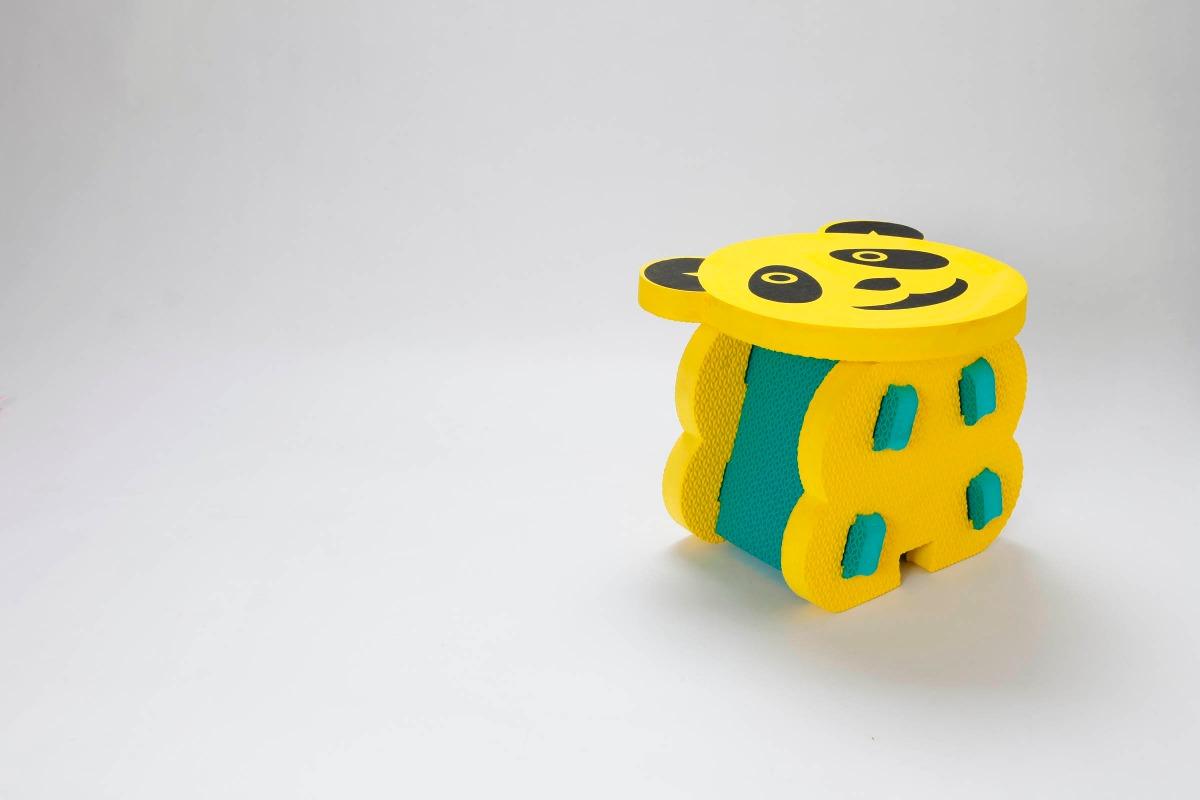 banquito goma eva ideal para bebes juegos didcticos cargando zoom