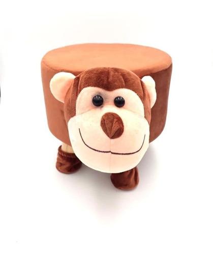 banquito  sillón infantil forma animales  peluche niño