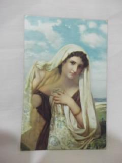 b.antigo-cartão postal alemão original antigo datado de 1922