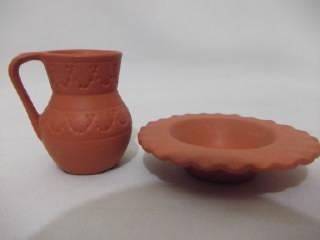 b.antigo - gomil miniatura portuguesa terra cota de aveiro