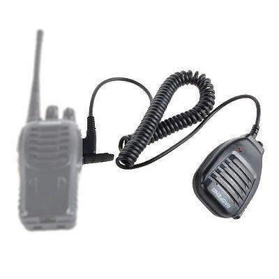 baofeng bf-s112 altavoz-micrófono de mano de doble banda de