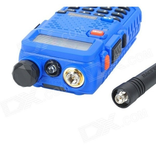 baofeng bf-uv5r 1.5  band dual 128-ch walkie talkie w / torc