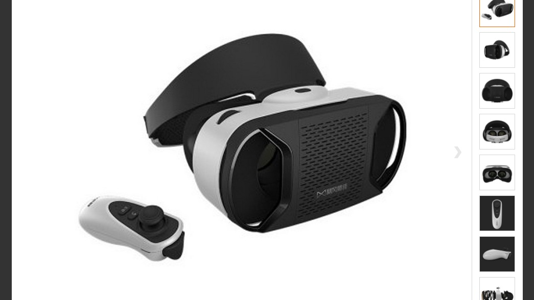 Baofeng Mojing Vr Box 3d Control De Juego For Android
