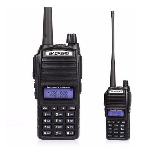 baofeng radio uv82 dual banda vhf o uhf con manos libres