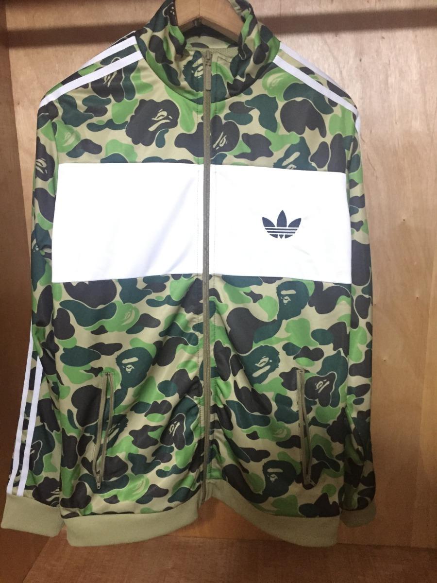 a787651cadb06 bape x adidas abc camo track jacket. Carregando zoom.