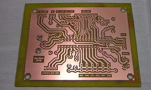 baquelita para circuito impreso pcb 20x30cm