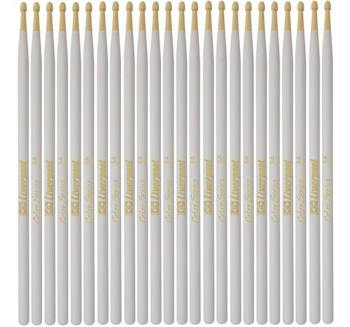 baqueta 5a color series marfim (12 pares) liverpool lc dz5am