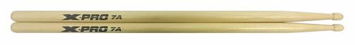 baqueta 7a ponta de madeira x-pro c. ibanez bateria