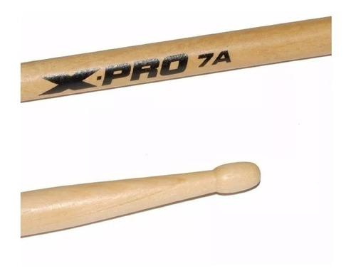 baqueta 7a ponta de madeira x-pro c. ibanez par