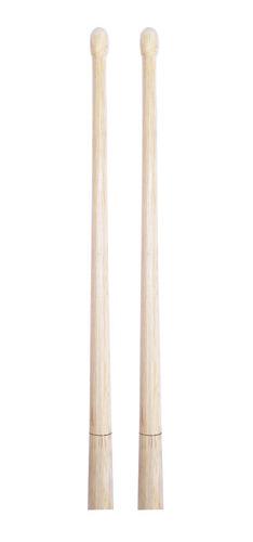baqueta de madera para banda de guerra infantil (1par)