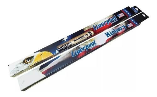 baqueta hy 5am american hickory 5a ponta de madeira hy5am