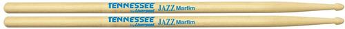 baqueta jazz tennessee marfim (12 pares) liverpool tn dzjaz