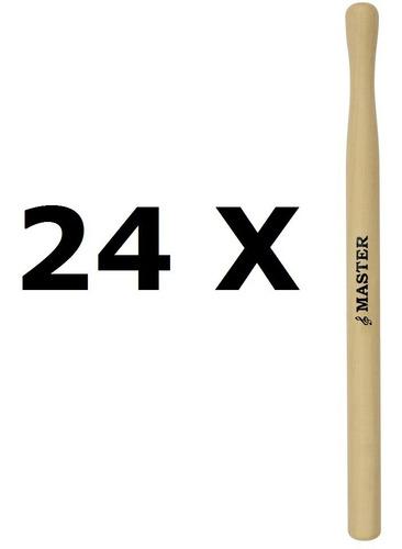 baqueta para surdo master ( 24 peças ) 365mm liverpool mt-18