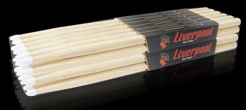baqueta profissional 2b marfim liverpool ll 2bn 12 pares