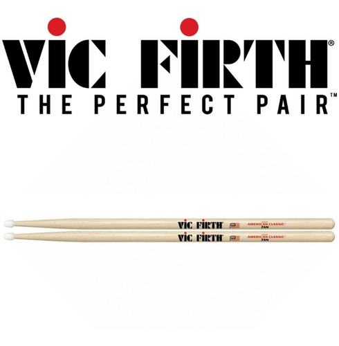 baqueta vic firth american classic 7an nylon pit made in usa