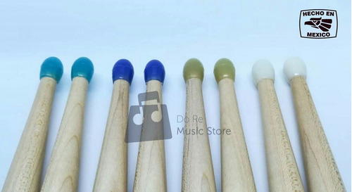 baquetas 5a punta nylon rioz percussion