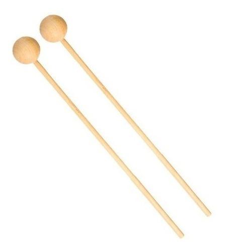 baquetas metalófono (par) madera - queen instrumentos mus