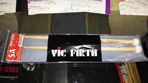 baquetas vic firth 5adt dual tone  nuevas