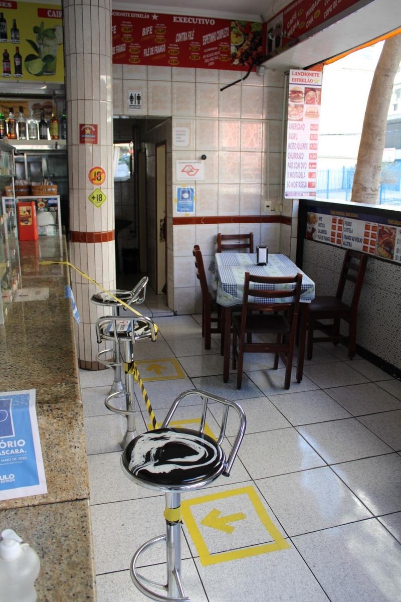 bar e restaurante no centro de sp - montado, passo o ponto