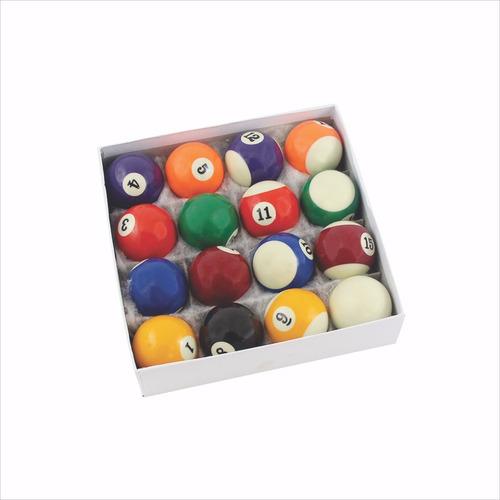 Bar Jogo Bola Sinuca Bilhar Snooker Promoção 16 Pçs Conjunto - R  94 ... 2282e458eb9ff