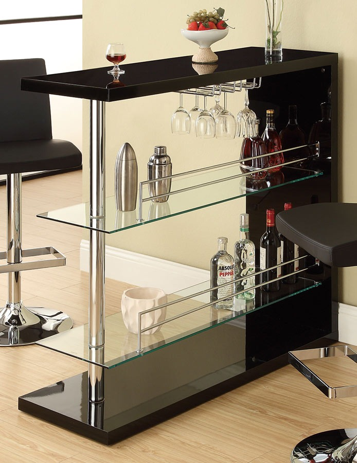 Repisa Vidrio 100165 Color Negro  Bs 1480000,00 en Mercado Libre