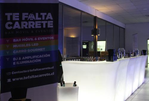 bar móvil / barra móvil / barra libre tefaltacarrete.cl