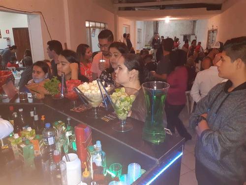 bar para festas eventos de todos tipos.