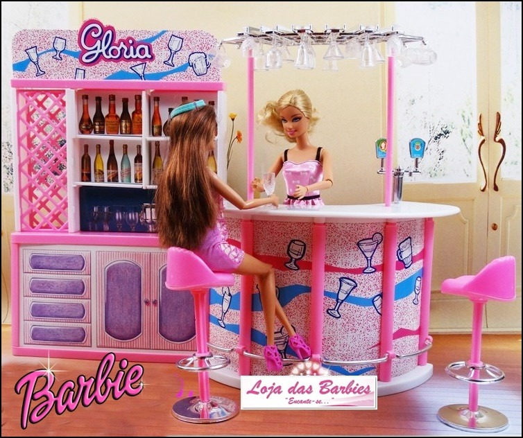 Резултат с изображение за boneca da barbie restaurante