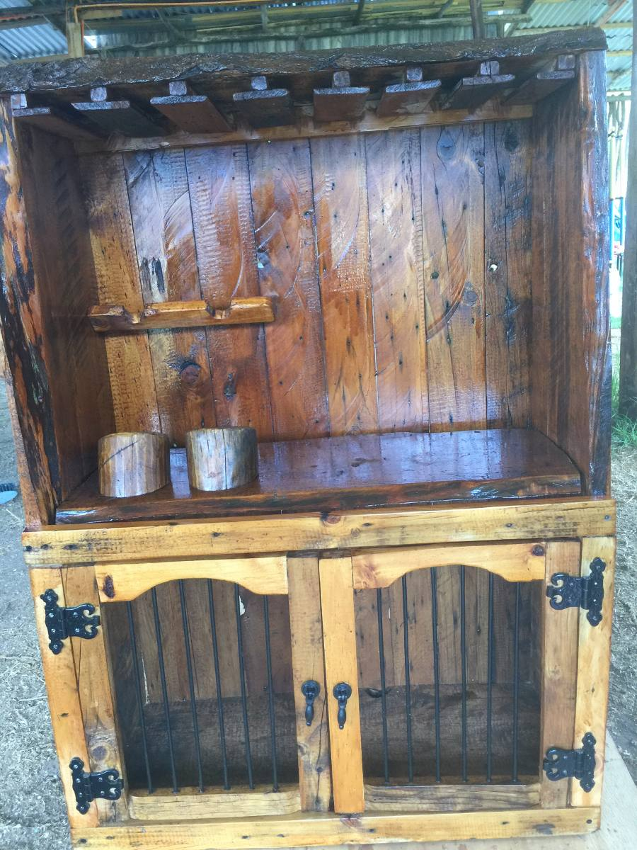 Bar rustico de madera en mercado libre for Bar de madera usado