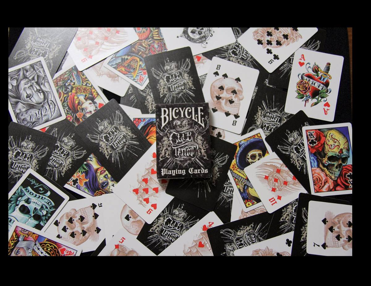 bycicle poker deck deutschland