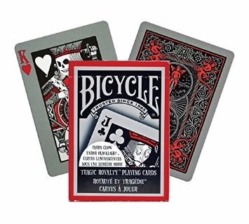 baraja bicycle tragic royalty envio gratis por dhl